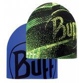 Buff Coolmax Reversible Hat R-Flash Logo Yellow Fluor/Blue Ink