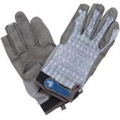 BUFF Fighting Work Gloves, Gray Scale, S/M