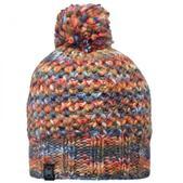 Buff Knitted Pom Pom Hat Margo Orange