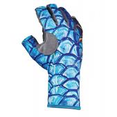 BUFF(R)  Pro Series Angler 3 Gloves De Young DY Tarpon Scales XL/ XXL