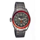 Bull Titanium Hereford Carbon Fiber Dial Design Bracelet Watch