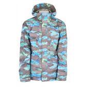 Burton 2L Goretex Shelter Snowboard Jacket Mocha Hydro Camo Print