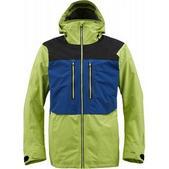 Burton AK 2L Stagger Snowboard Jacket Acid Colorblock
