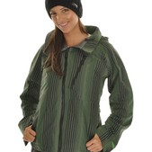 Burton Ak Static 3L Snowboard Jacket Chartreuse - Women's