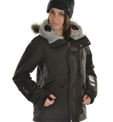 Burton Audex Domain Snowboard Jacket True Black - Women's