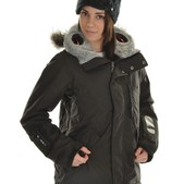 Burton Audex Domain Snowboard Jacket True Black - Women's
