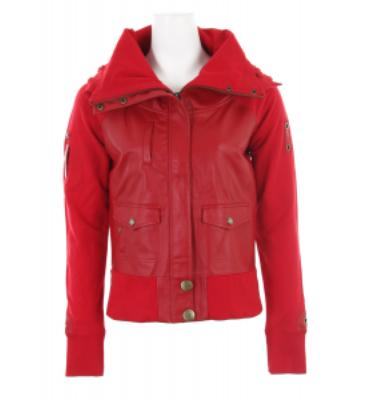 Burton B By So Flossy Jacket True Red
