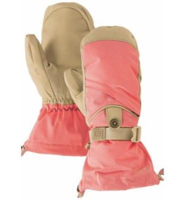 Burton Baker Snowboard Mitts Petal Pink