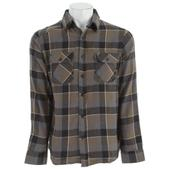 Burton Brighton L/S Flannel Shirt Blotto Grey