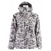 Burton Document Snowboard Jacket Shark Pop Camo
