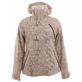 Burton Dream Snowboard Jacket Chestnut Paper Print