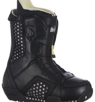 Burton Emerald Snowboard Boots Black/Yellow - Women's