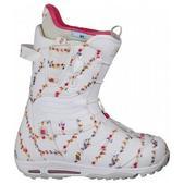 Burton Emerald Snowboard Boots White/Multi/Magenta