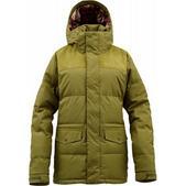 Burton Foxx Down Snowboard Jacket Olive