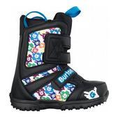 Burton Grom Snowboard Boots Black/White/Multi