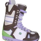 Burton Hail Snowboard Boots Grey - Kid's