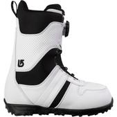 Burton Jet Snowboard Boots White/Black