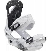 Burton Lexa Snowboard Bindings White & Black Speck