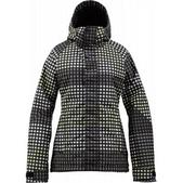 Burton Method Snowboard Jacket True Black Cheeky Plaid