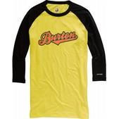 Burton Midweight 3/4 Baseball First Layer Shirt Gold Medal
