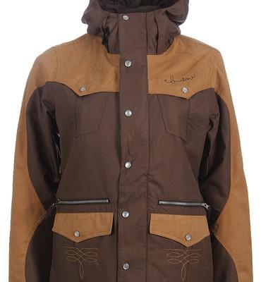 Burton MP3 Round Up Snowboard Jacket Roasted Brown - Women's