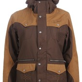 Burton MP3 Round Up Snowboard Jacket Roasted Brown - Women's