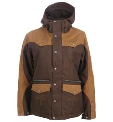 Burton MP3 Round Up Snowboard Jacket Roasted Brown