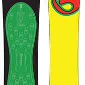 Burton No Fish Snowboard 156 - Men's