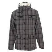 Burton Noble Gentlemans Snowboard Jacket Castlerock Plaid Of Gold Print