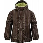 Burton Perception Girl's Snowboard Jacket Minpin Mocha