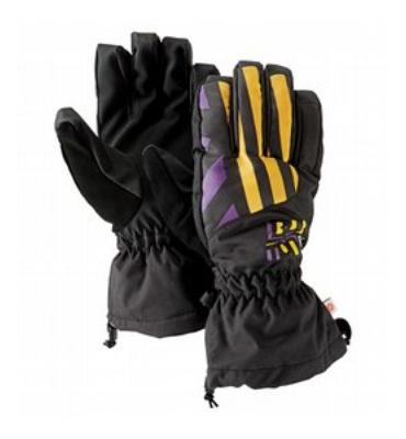 Burton Profile Snowboard Gloves Black Out
