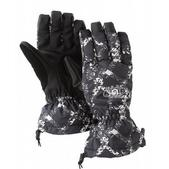 Burton Profile Snowboard Gloves True Black Link Up Print