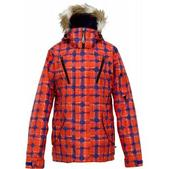 Burton Prowess Snowboard Jacket Visionary Plaid