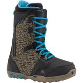 Burton Rampant Snowboard Boot Men's- Black/Camo/Blue