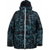 Burton Restricted Kilter Snowboard Jacket Society Print