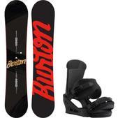 Burton Ripcord Snowboard w/ Burton Custom Bindings