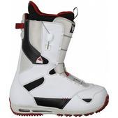 Burton Ruler Snowboard Boots White/Black/Red