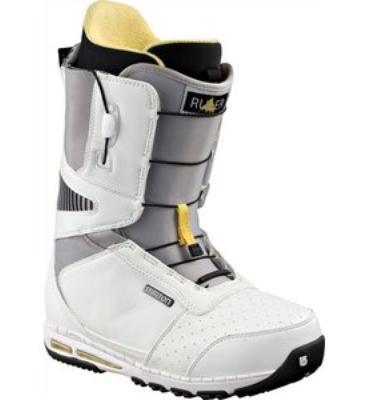 Burton Ruler Snowboard Boots White/Black/Yellow