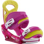 Burton Scribe Smalls Re:Flex Snowboard Bindings Razzle Dazzle Pink