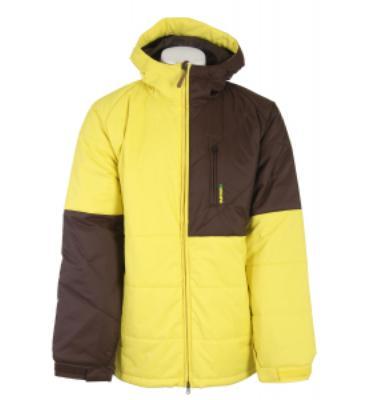 Burton Shakedown Snowboard Jacket Barrier Yellow/Mocha