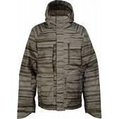 Burton Slub Snowboard Jacket Trnch Green Seepage