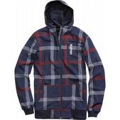 Burton Softshell Hoodie Snowboard Jacket Ballpoint Prospect Plaid