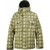 Burton System Snowboard Jacket Bar Yellow Shdw Box Pld