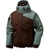 Burton The White Collection Asym Snowboard Jacket Roasted Brown
