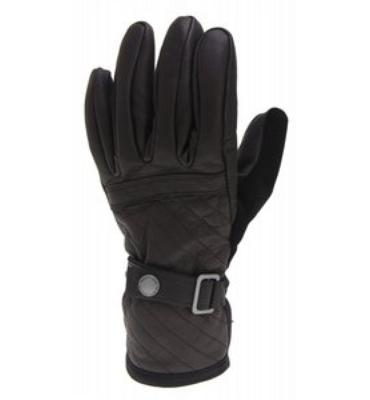 Burton The White Collection Snowboard Gloves True Black