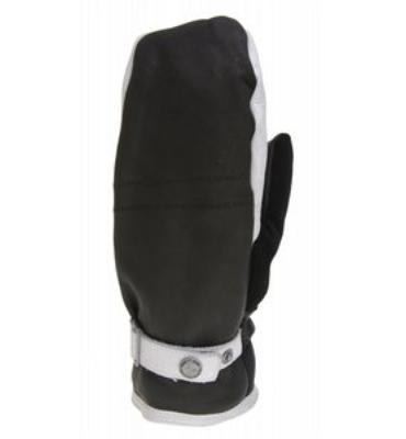 Burton The White Collection Snowboard Mitts True Black