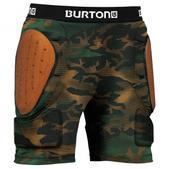 Burton Total Impact Padded Shorts Hickory Pop Camo