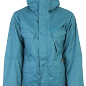 Burton Traction Snowboard Jacket Blue Grass - Men's