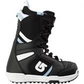 Burton Women`s Coco Snowboarding Boot (BLACK / WHITE, 7)