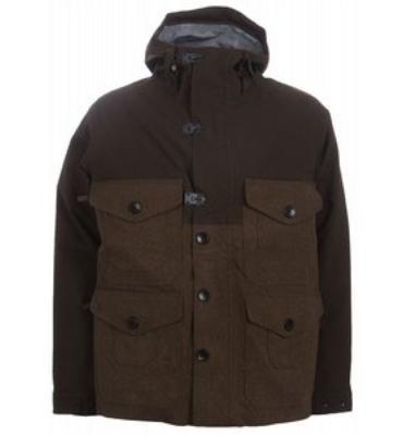 Burton Woolie Snowboard Jacket Mocha